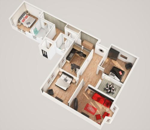 Greenview, 3 Bed Apartment
