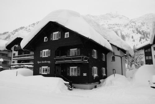 Haus Landbrugg - Apartment mit 1 Schlafzimmer und Gartenblick