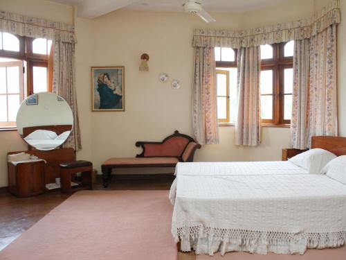 Double Room with Two Large Single Beds