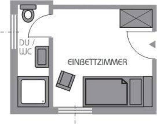 Einzelzimmer (Single Room)
