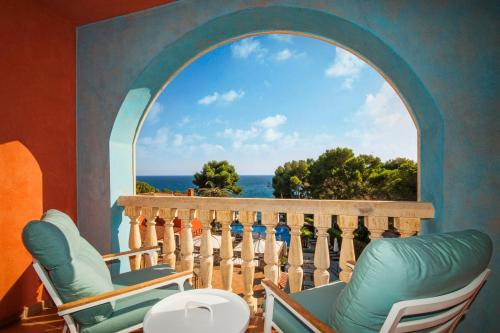 Double Room with Sea View with Spa Access Hotel & Spa Cala del Pi 1