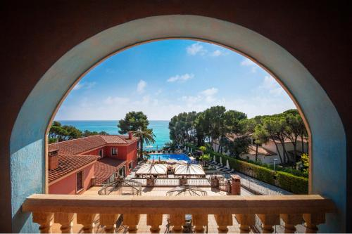 Double Room with Sea View with Spa Access Hotel & Spa Cala del Pi 2