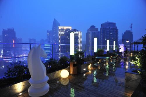 Отель Kaoyu Hotel (former LandYatt Park Hotel Chongqing) 4 звезды Китай
