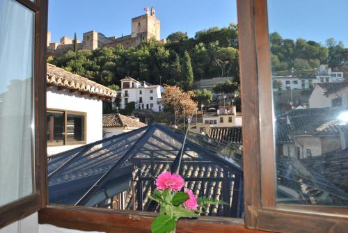 Habitación doble con vistas a la Alhambra - 1 o 2 camas Palacio de Santa Inés 5