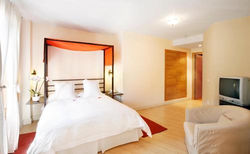 Habitación Doble Hotel Rincon de Traspalacio 1