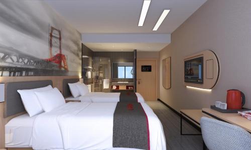 Thank Inn Chain Hotel Jiangsu Suqian Sihong Shuanggou Town Dongdajie, Shuanggou