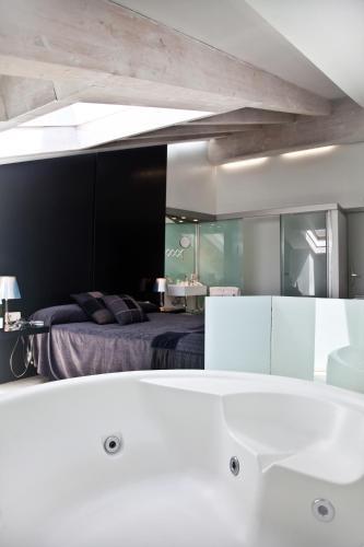 Habitación Doble - 1 o 2 camas - Uso individual Posada Real La Pascasia 7