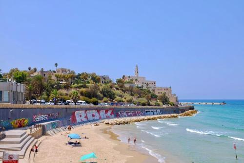 Charming House - Jaffa - Sea View - Jacuzzi #Y1, Tel Aviv