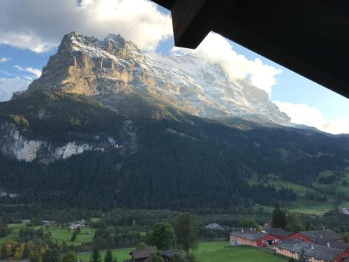 Double Room with Eiger Mountain View