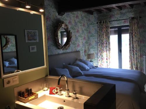 Deluxe Double Room with Terrace - single occupancy De Aldaca Rural 1