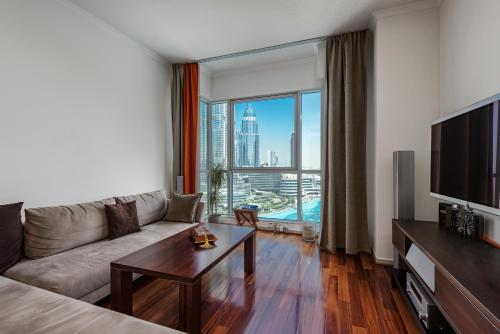 Premium Apartment Full Dubai Fountain & Full Burj Khalifa View, Dubaj