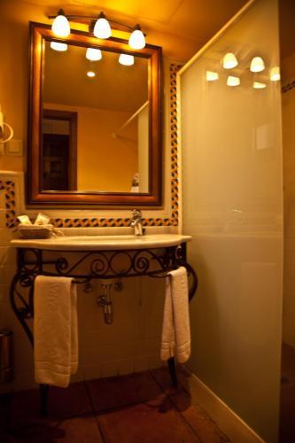 Doppel-/Zweibettzimmer mit eigener Terrasse Cigarral de Caravantes 5