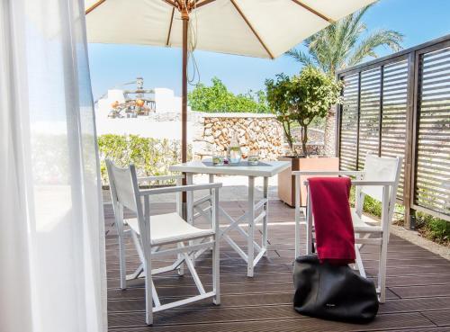 Doppel-/Zweibettzimmer mit eigener Terrasse Sant Joan de Binissaida 6