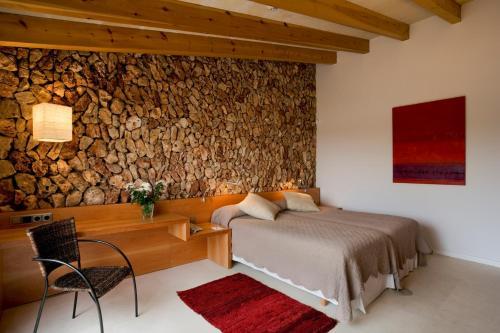 Doppel-/Zweibettzimmer mit eigener Terrasse Sant Joan de Binissaida 3