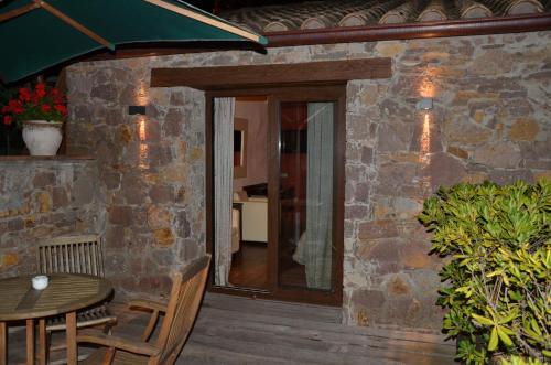Habitación Doble Superior con terraza Hotel Galena Mas Comangau 4