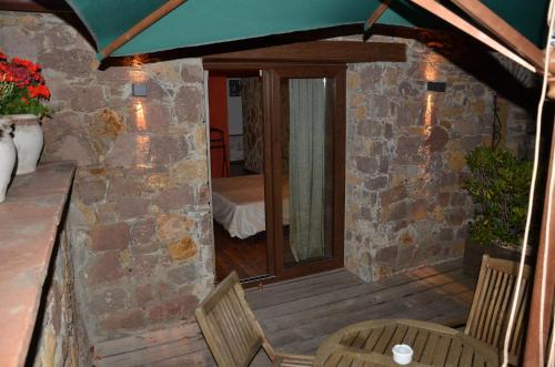 Habitación Doble Superior con terraza Hotel Galena Mas Comangau 3