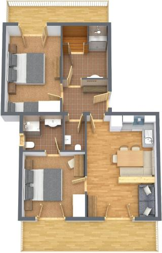 Superior Two-Bedroom Apartment - Penthouse