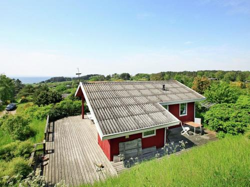 Two-Bedroom Holiday home in Knebel 11, Ørby