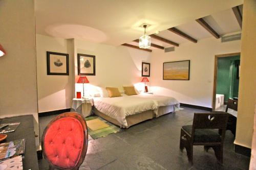 Habitación Doble Estándar - 1 o 2 camas - Uso individual Posada Real Castillo del Buen Amor 1