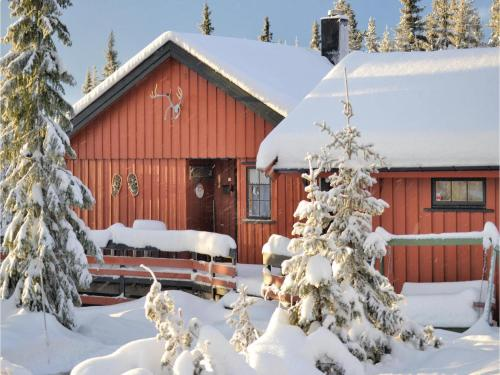 Three-Bedroom Holiday Home in Sjusjoen