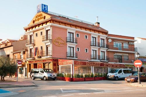 Hotel Villa de Ajalvir front view