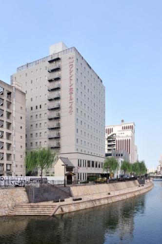 Hakata Nakasu Washington Hotel Plaza front view