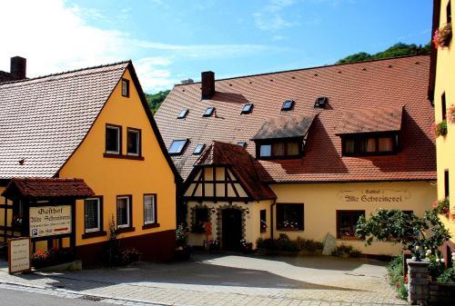 gasthof alte schreinerei in bettwar steinsfeld deutschland hotels und ferienwohnungen. Black Bedroom Furniture Sets. Home Design Ideas