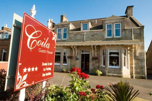 Photo of Coila Guest House Hotel Bed and Breakfast Accommodation in Ayr South Ayrshire