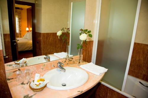 Suite con chimenea y acceso al spa Hotel Del Lago 3