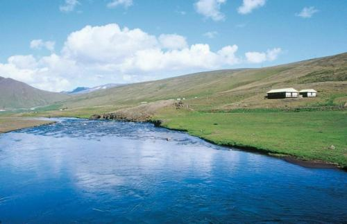 Lax-á Svartá River Cottage, Bólstaðarhlíð