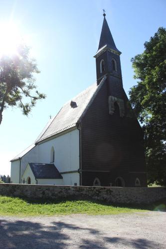 Ubytování v hájovne Svatý Tomáš