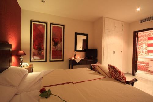 Habitación Doble - 1 o 2 camas - Uso individual Casa Baños de la Villa 2