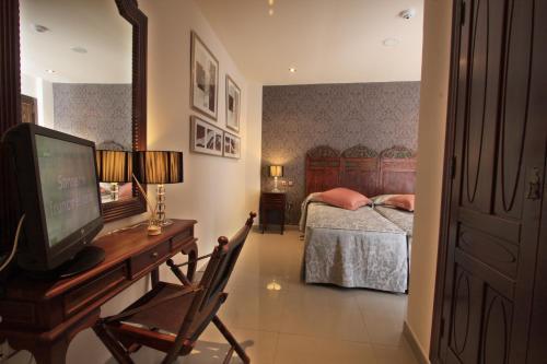 Habitación Doble - 1 o 2 camas - Uso individual Casa Baños de la Villa 5