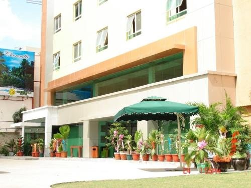 M Chereville Hotel Manila front view