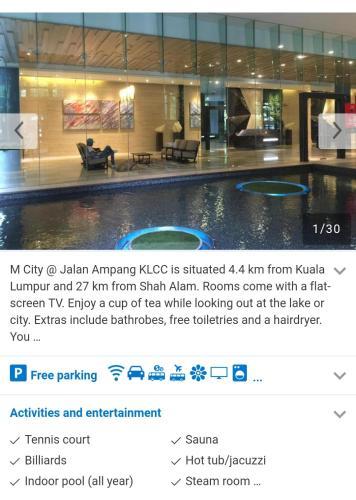 M City Service Residence, Kuala Lumpur
