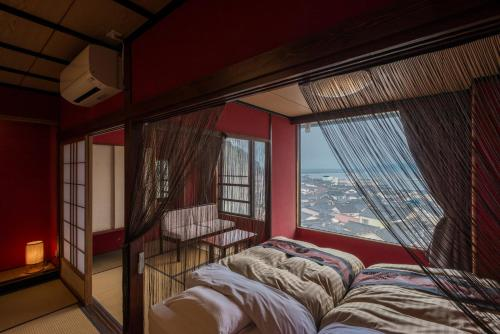 Japanese-Style Deluxe Room with Tatami Area and Ocean View