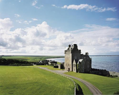 Photo of Ackergill Tower Castle Hotel Bed and Breakfast Accommodation in Ackergill Highland