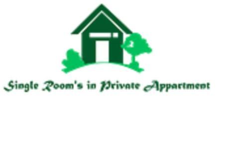 Single Room's in Private Apartmen