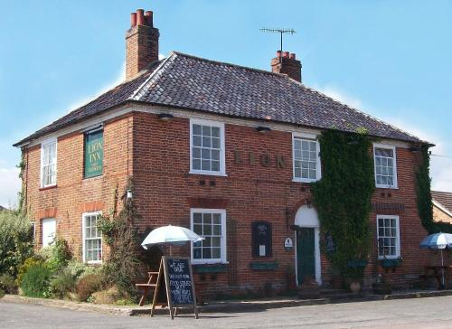 Photo of The Lion Inn Hotel Bed and Breakfast Accommodation in Theberton Suffolk