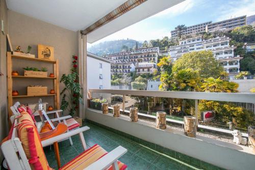 Rosa Fashion Apartment, Brissago