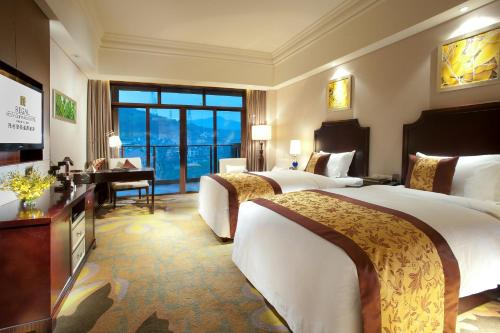 Deluxe Double Room with Hot Spring Tickets