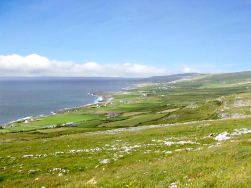 View of the Burren, Fanore