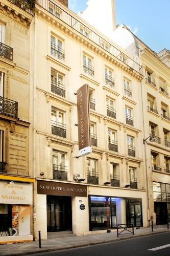 Newhotel Saint Lazare H Tel 53 Rue D 39 Amsterdam 75008