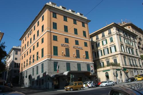 Отель Clarion Collection Hotel Astoria Genova 4 звезды Италия