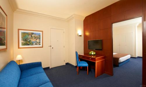 Double or Twin Garden View Suite with Balcony