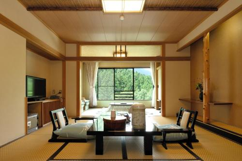 Superior Japanese-Style Room with Shared Bathroom and Toilet