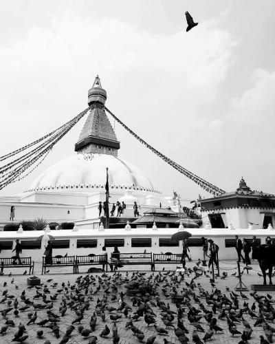 Boudanath Guest House, Katmandu