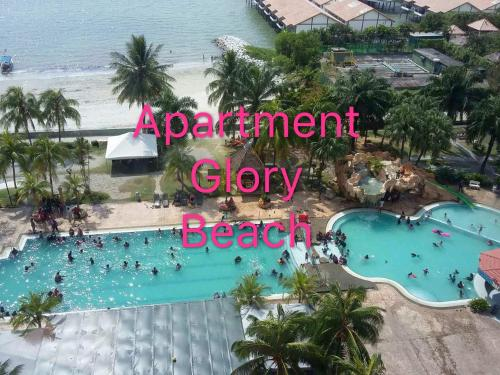 Private apartment at glory beach resort