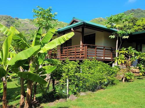 Maison Heipua à Hiva Oa