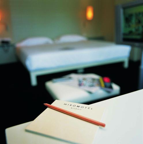 Habitación Doble Interior Pequeña Hotel Miró 3